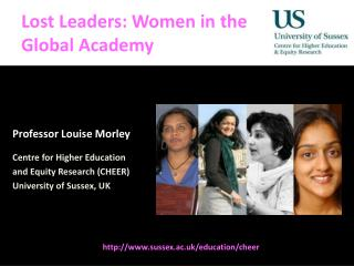 Lost Leaders: Women in the  Global Academy