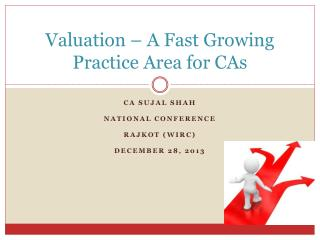 Valuation – A Fast Growing Practice Area for CAs