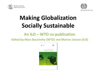 Making Globalization  Socially Sustainable