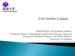 Civil Society in Japan