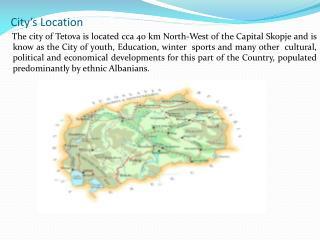 City's Location