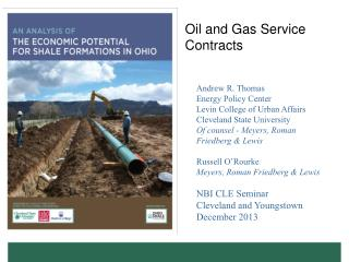Oil and Gas Service Contracts