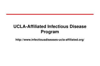 UCLA-Affiliated Infectious Disease Program