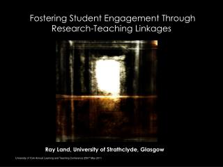 Fostering Student Engagement Through Research-Teaching Linkages