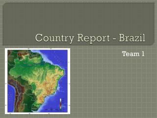 Country Report - Brazil