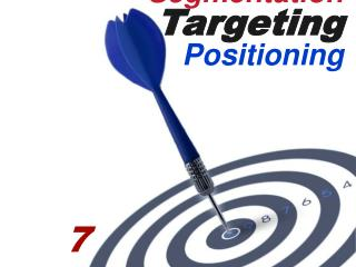 Segmentation T arget ing Positioning