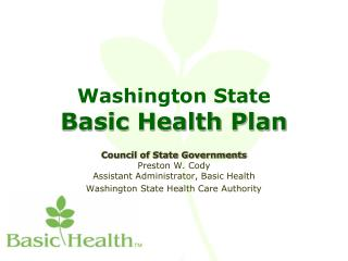 Washington State Basic Health Plan