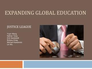 Expanding global education