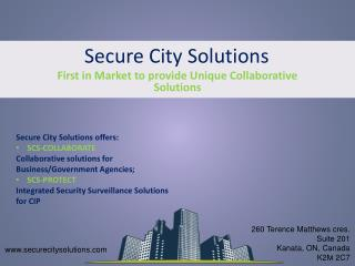 Secure City Solutions