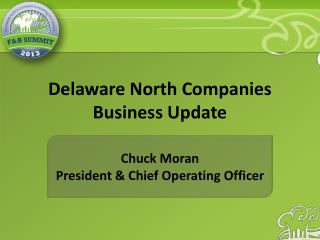 Delaware North Companies Business Update