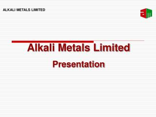 Alkali Metals Limited Presentation