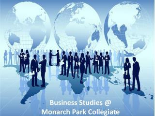 Business Studies @ Monarch Park Collegiate