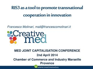 RIS3 as a tool to promote transnational cooperation in innovation