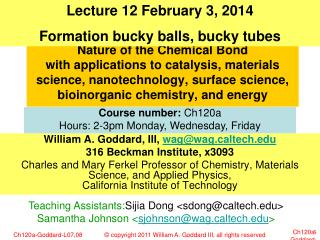 Nature of the Chemical Bond  with applications to catalysis, materials science, nanotechnology, surface science, bioino