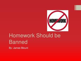 Homework Should be Banned