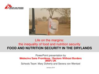 Life on the margins:  the inequality of food and nutrition security FOOD AND NUTRITION SECURITY IN THE DRYLANDS