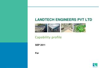 LANDTECH ENGINEERS PVT LTD