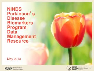 NINDS Parkinson ' s Disease Biomarkers Program Data Management Resource