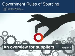 Government Rules of Sourcing