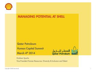 Managing potential at shell