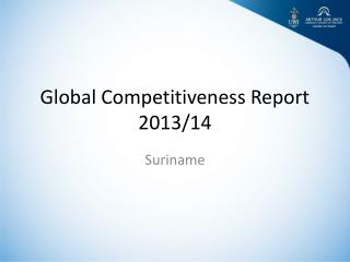 Global Competitiveness Report  2013/14