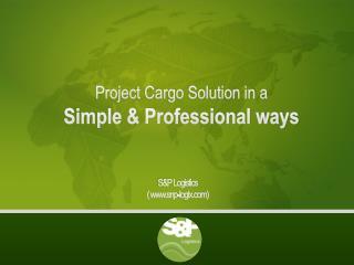 S&P Logistics  ( www.snp-logix.com)