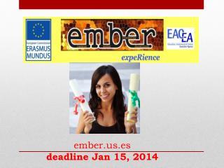 ember.us.es deadline Jan  15, 2014