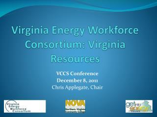 Virginia Energy Workforce Consortium: Virginia Resources