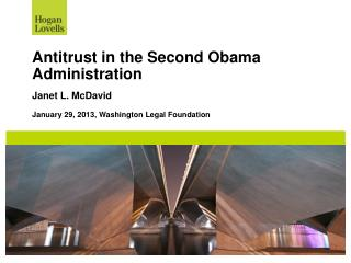 Antitrust in the Second Obama Administration