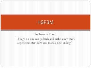 HSP3M