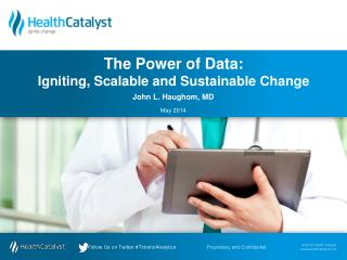 The Power of Data: Igniting, Scalable and Sustainable Change