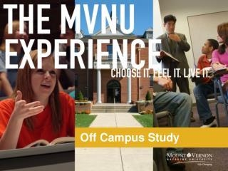 Off Campus Study