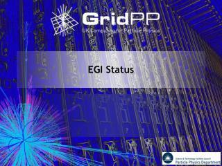 EGI Status