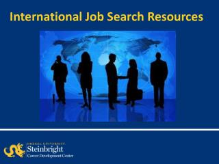 International Job Search Resources