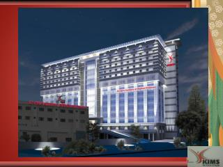Kims  is a 300  beded  multi  speciality  hospital strategically located in heart of the city and accessible.