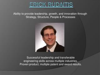 Erick Rudaitis