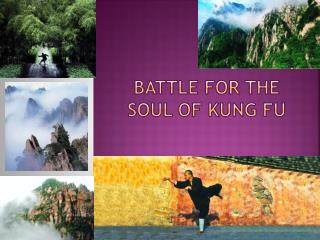 Battle for the Soul of Kung Fu
