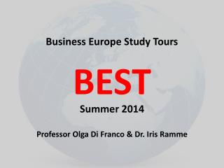 Business Europe Study Tours BEST