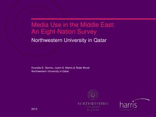 Media Use in the Middle East: An Eight-Nation Survey