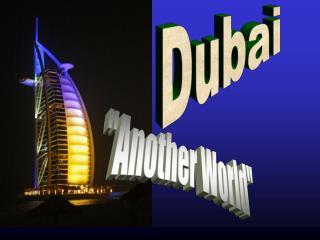 Dubai Otro Mundo