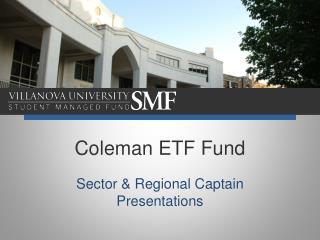 Coleman ETF Fund