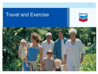 Travel  and Exercise