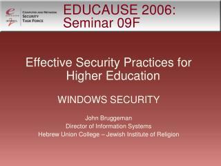 EDUCAUSE 2006: