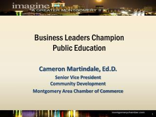 Business Leaders Champion  Public Education