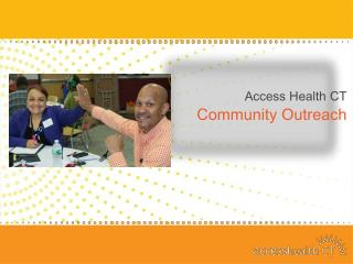 Access Health CT  Community Outreach