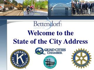 Welcome to the State of the City Address