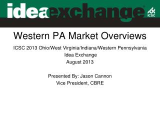 Western PA  Market  Overviews