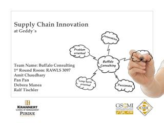Supply Chain Innovation  at  Geddy´s