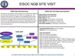 EISOC NGB SITE VISIT