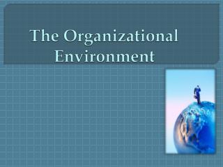 The Organizational Environment